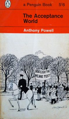 The acceptance world By Anthony Powell Vintage penguin paperback book