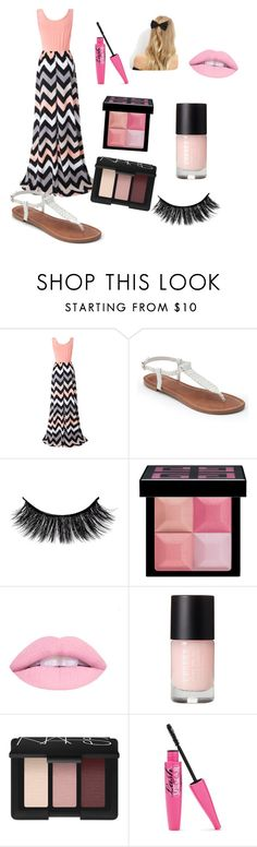 """""""Untitled #9"""" by kiwilowder ❤ liked on Polyvore featuring Chicnova Fashion, Apt. 9, Givenchy, NARS Cosmetics and New Look"""