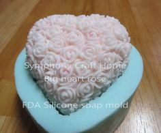 **Ready to ship from MD, U.S.A**  A+++ quality silicone mold Material: Food grade Silicone Rubber Certification: FDA,SGS mold size(cm): 4*3.5*1.75 inch  soap size(cm) 3*3*1.25 inch soap weight 3.6-4 oz. Safe for dishwasher, microwave, oven and freezer Unbreakable to keep its shape  Endure temperatures exceeding 200 degrees Flexible and no release agent needed