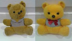 Winnie Before and After a visit to the famous Dolls Hospital & Teddy Bear Clinic. #www.dollstore.ie  ‪#‎DollsHospital‬  #dollstore ‪#‎LoveDublin