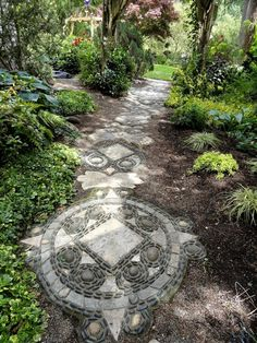 55 Gorgeous Rock Pathway Design Ideas To Enhance Your Beautiful Garden 30
