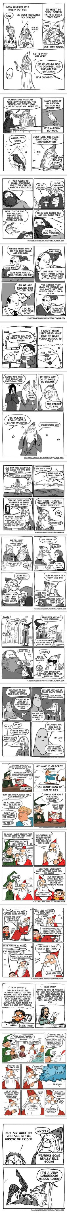 These Hilarious Comics Show How Irresponsible Dumbledore was