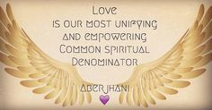 "All about the Love quotation: ""Love is our most unifying and empowering denominator ~ The more we ignore its potential to bring greater balance and deeper meaning to human existence, the more likely we are to continue to define history as one long inglorious record of man's inhumanity to man."" ~ Aberjhani (from Journey through the Power of the Rainbow)  Text graphic art by bhaskarakalyana   #freedom #orlando #yogalove #compassion #love #connected #unity #hope #peace #aberjhani #yogini…"
