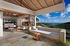 Distinct Geometry and Enthralling Caribbean Views: 100 Pond Bay Estate
