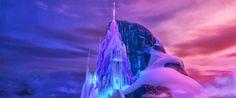 frozen castle - Google Search