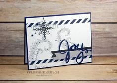 Star of Light Silver Christmas Card created by Pam Staples for the Paper Craft…