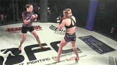 "humancockfighting: "" BFC 26: Jessica Middelton vs. Holly Torrez (source) ""…"