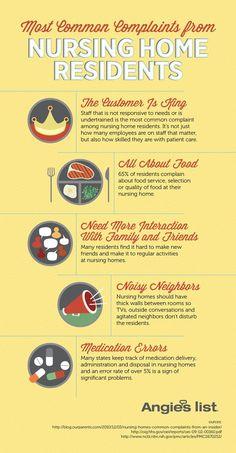 Senior Care Infographic by Kris Davidson, via Behance