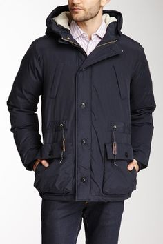 Hooded Down Coat on HauteLook