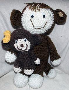 Mama-Affe mit Kind