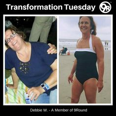 Check out this week's #TransformationTuesday! Debbie's story is quite a POWERFUL one! She lost 40 pounds! Her transformation is PROOF that someone in their mid-50s can totally change their fitness health. Whether you're a beginner or a seasoned pro ... our circuit format is specifically designed to allow you to work at your own pace. You will be able to go at a speed that feels right for you until you're ready to move to the next level. #GetFit #GetHealthy #YouCanDoIt #9RoundNorthville