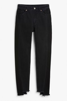 Monki Image 1 of Kimomo two jeans in Black