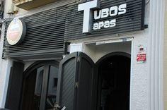 Entrada de Tubos Tapas.