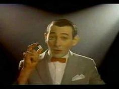 OMG. PeeWee Herman and his 80's Don't do crack PSA! Hilarious!