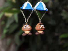 Goomba Earrings by Rebellya