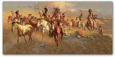 native american artist frank mccarthy | western art native american art landscapes wildlife lay away shipping