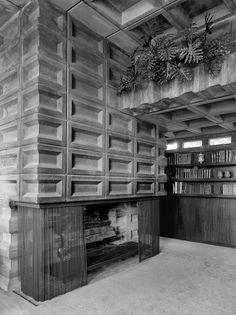 Tonkens House | Cincinnati, Ohio | Frank Lloyd Wright | photo by Ryan Kurtz