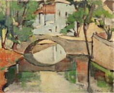 .:. Σπυρόπουλος Γιάννης – Giannis Spyropoulos [1912-1990] The bridge of Livadia