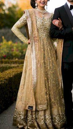 Ideas for south indian bridal lehenga anarkali Pakistani Bridal, Bridal Lehenga, Pakistani Dresses, Indian Bridal, Indian Dresses, Indian Saris, Bridal Anarkali Suits, Walima Dress, Indian Wedding Outfits