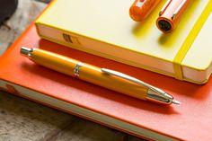 Pilot Vanishing Point Fountain Pen - Yellow, Medium