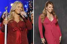 Mariah Carey Thediva has had some problems with her weight managementafter giving birth to twins in 2011, when she was almost unrecognizable. She managed to get her weight under control and lost 45 pounds through diet and exercise, transforming back to the Mariah we know!
