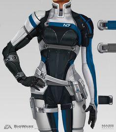 ArtStation - Mass Effect Andromeda - Cora Harper, Ben Lo