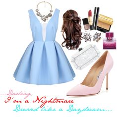 """""""A Nightmare Dressed Like a Daydream ;)"""" by veradediamant on Polyvore"""