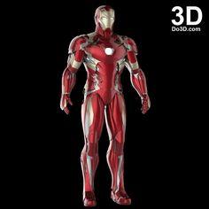Iron Man Armor, Iron Man Suit, 3d Printable Models, Ironman, Suit Of Armor, Captain America Civil War, Batman Universe, Figure Model, Avengers Infinity War