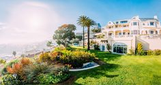 Ellerman House is an award-winning offering comprised of a luxury boutique hotel and two secluded exclusive-use villas overlooking Bantry Bay in Cape Town. African Safari, Hotel Spa, Cape Town, Luxury Travel, Best Hotels, Luxury Homes, Villa, Mansions, House Styles