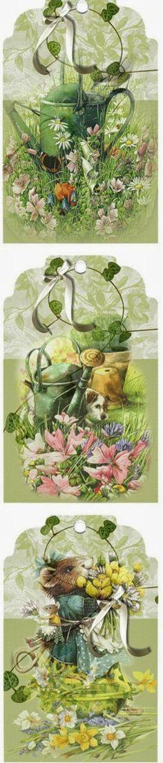 papers.quenalbertini: Spring tags, Imprimolandia