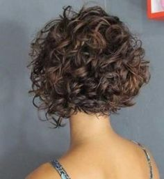 20 New Bob Hairstyles for Curly Hair - # for - Lockige haare -