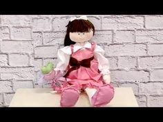 Curso online: Boneca Bruna com Vivi Prado www.atelienaweb.com.br - YouTube
