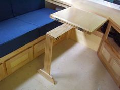 Dining table and cabinet doors done - Airstream Forums