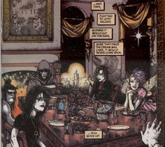 Sandman- Neil Gaiman. It is like a dream you don't ever want to wake up from.