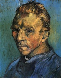 Last Self-Portrait by Vincent van Gogh Late Summer, 1889