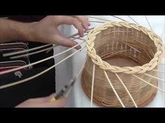 """Me, demonstrating a simple plait border of for the women of """"Sindyanna of Galilee - Fair Trade"""". Watch this video on what is Sindyanna of Galilee: https:. Miniature Houses, Miniature Dolls, Paper Basket Weaving, Newspaper Basket, Cardboard Art, Rolled Paper, Plait, Weaving Patterns, Air Dry Clay"""