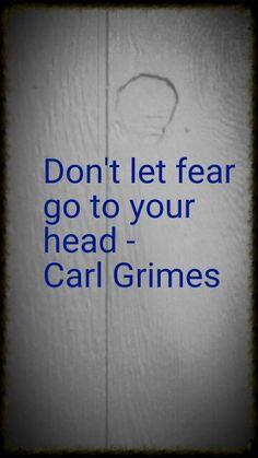 Walking dead saying carl grimes season 6
