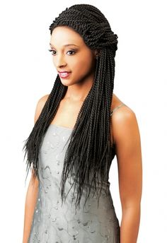 Shop Magic Lace Front Braid Wig Senegal Twist Small at Luxe Beauty Supply. Synthetic Lace Front Wigs, Synthetic Wigs, Senegal Twist, Latest Hairstyles, Wig Hairstyles, Lace Braid, Box Braid, Front Braids, Braids Wig