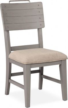 The perfect addition to a dining space, the New Haven Shiplap Dining Chair is a stylish piece you and your family are sure to love. New Haven Shiplap Dining Chair - Gray White Dining Chairs, Dining Room Table, Side Chairs, Dining Rooms, New England Farmhouse, Teal Accent Chair, Value City Furniture, Living Room Seating, Furniture Making