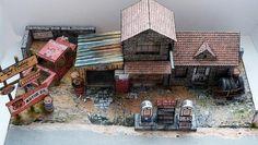 Abandoned Gas Station. Via Papermau. Photobucket