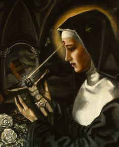Saint Rita, my favorite saint back when i was religious, i even owe her something but clearly she has non christian roots( her archetype)
