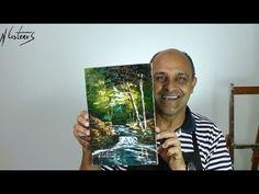 Curso de Pintura a Óleo sobre Tela - Uma Paisagem - Cursos CPT - YouTube