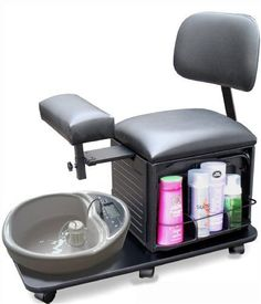Dina Meri 2318 Pedicure Station Pedicure Stool with Back Support  http://www.allbeautysecret.com/dina-meri-2318-pedicure-station-pedicure-stool-with-back-support/