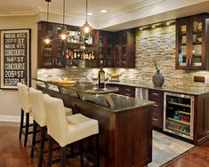 Basements that you will never ever want to leave.........