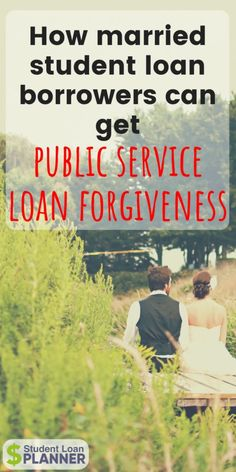 Are you and your spouse both seeking public service loan forgiveness? How Married Couples Can Take Advantage of Public Service Loan Forgiveness for Their Student Debt Federal Student Loans, Paying Off Student Loans, Private Student Loan, Scholarships For College, Education College, School Scholarship, College Tips, Tarot, Public Service