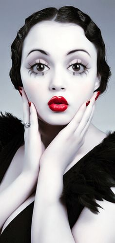 Perfection. bettyred: AMAZING! Love this! | See more about Betty Boop, Real Life and Red Lips.
