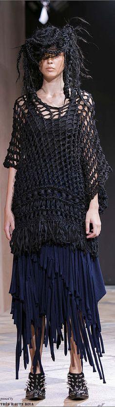 Sweater only  #Paris FW Junya Watanabe Spring / Summer 2014 RTW