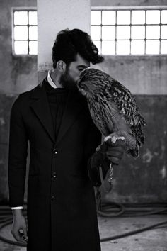 A man and his owl