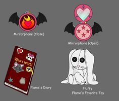 .: Flame's Stuffs :. by Anna-The-Cherry