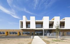 Ecole Maternelle Antoine Beille,© Mathieu Ducros